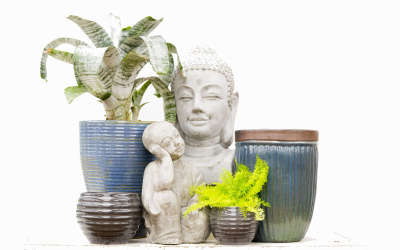 Imported Outdoor Containers - Flora Imports