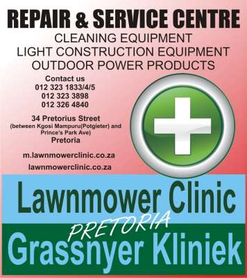 Lawnmowers Pretoria Lawnmower Clinic Pretoria
