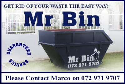 Garden Refuse Removal - Port Elizabeth - Mr Bin