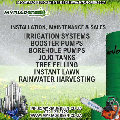 Myriad Green Irrigation - Pretoria Gauteng