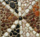 Pebble Mosaic Focal Points in Gardens - Centurion Pretoria