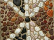 Pebble Mosaic Focal Points in Gardens - Centurion Pretoria
