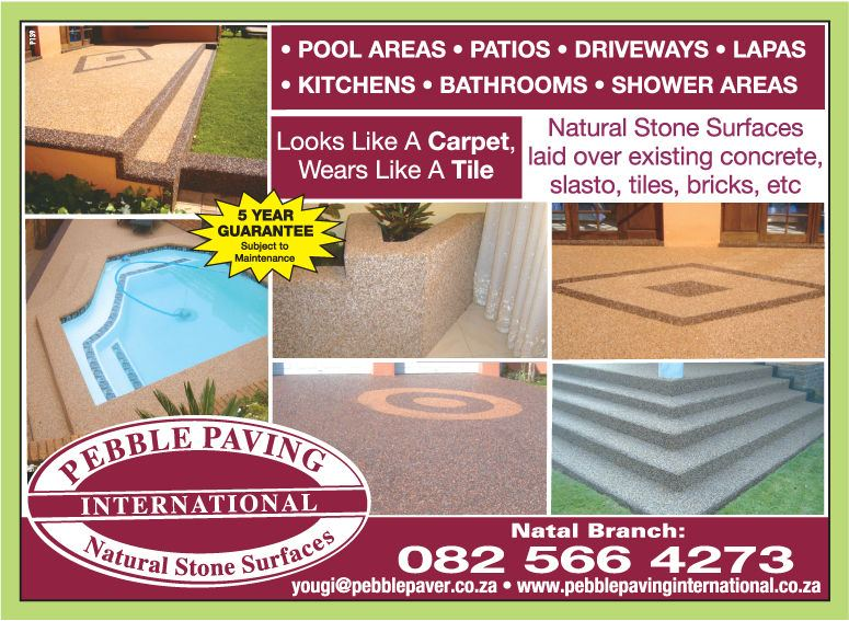 Pebble Paving International - Stone Paving - Lenasia