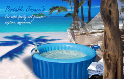 Portable Garden Jacuzzi Earth And Water Wonders
