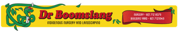 Dr Boomslang Nursery Indigenous Plants