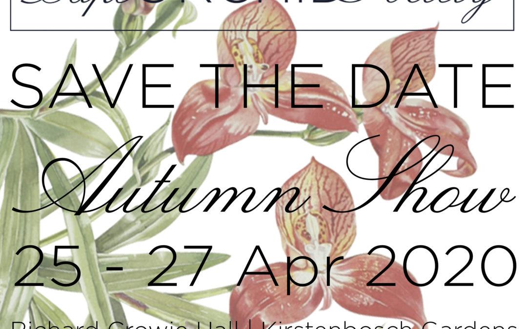 Orchid Autumn Show 2020