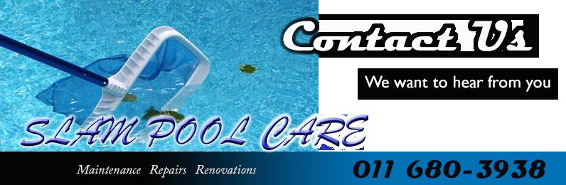 Slam Pool Care