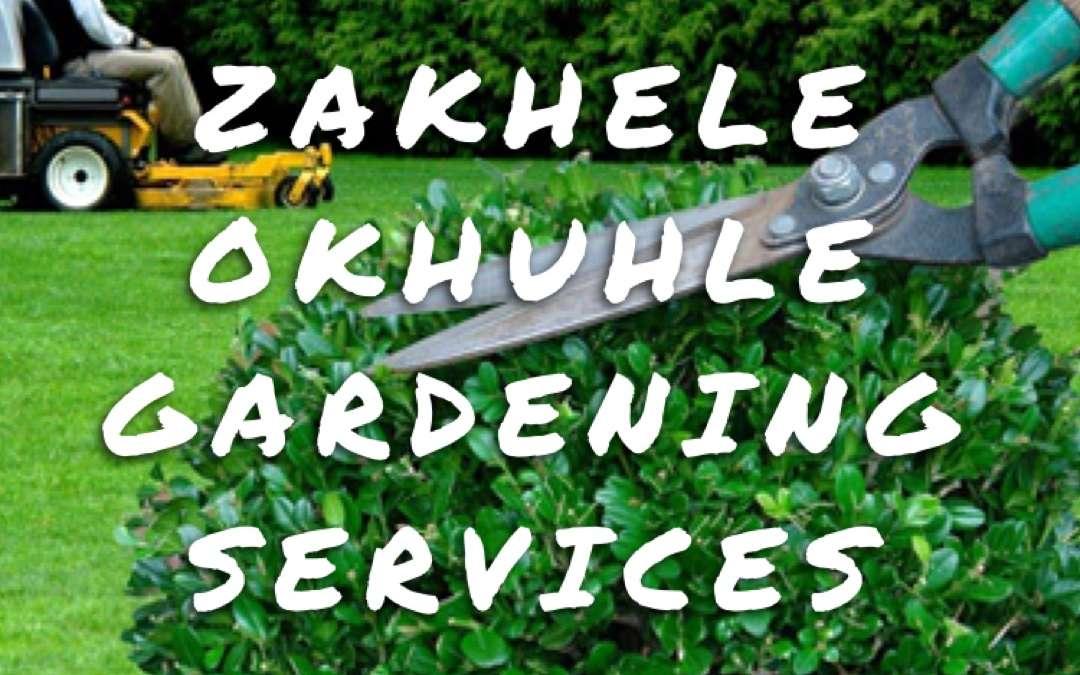 Zakhele Okhuhle Gardening Services